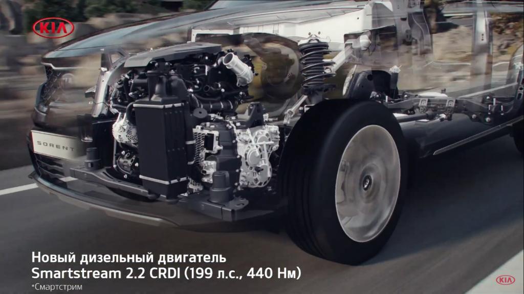 соренто 2020 дизельный двигатель