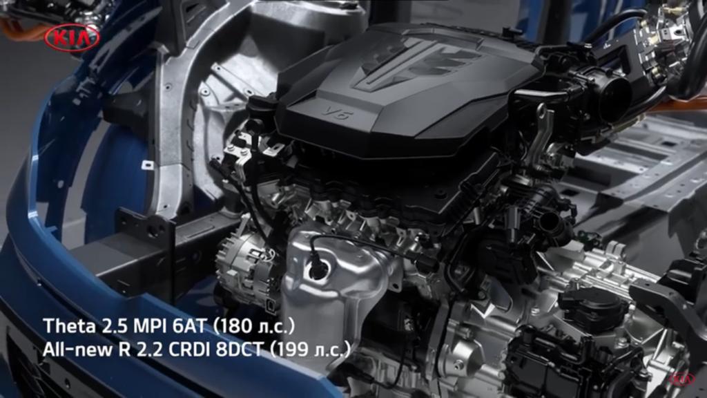 киа соренто 2020 двигатель 2.5 бензиновый